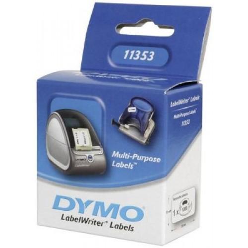 Dymo LW Cok Amaclı Etiket Etiket,1000 etiket/paket, 24 x 12 mm (11353 )