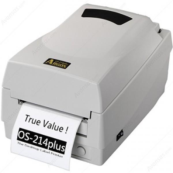 Argox OS-214 PLUS Ofis Tipi Barkod Yazıcı