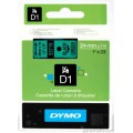 DYMO D1 Yedek Şerit, 24 mm x 7 mt, Yeşil/Siyah (53719)